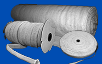 Ceramic Fiber Cloth, Ceramic Fiber Tape and Ceramic Fiber Sleeving